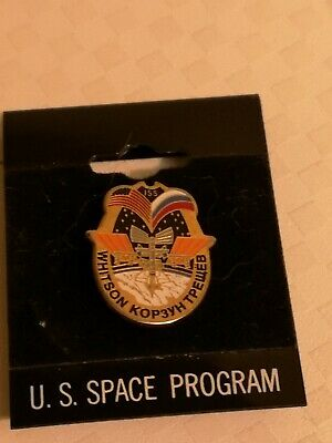 NASA Space Shuttle Astronaut Mission Patch STS Pin Badge ISS • 2.50£