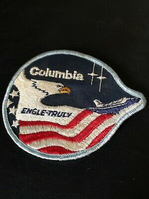 NASA Space Shuttle Astronaut Mission Patch STS 2  ISS Columbia  • 3.50£