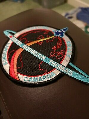 NASA Space Shuttle Patch Mission Astronaut Planet Star Solar System STS 114 • 3£