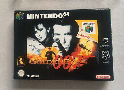 AU70 • Buy 🔫 007 GOLDENEYE 🔥 Excellent Condition 🔥 BOXED Complete Nintendo 64 N64 PAL