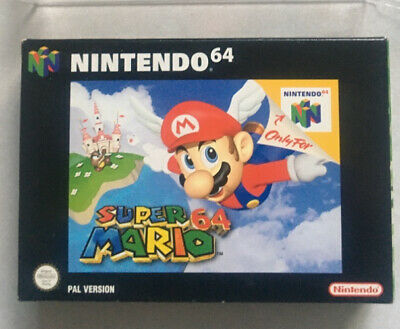 AU75 • Buy N64 SUPER MARIO 64🔥 MINT As New 🔥 Complete Game PAL Nintendo BOXED