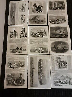 Illustrated London News Original Pages From 1855, July-december Crimean War News • 10£