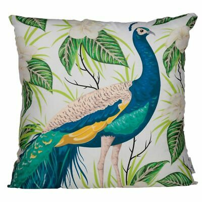 £9.95 • Buy Peacock Cushion Cover Polyester Includes Cushion Insert 50cm X 50cm