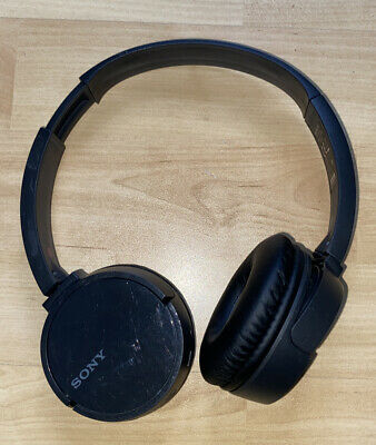 Sony WH-CH500 Wireless Bluetooth Headphones - Black *No Charging Lead* • 16.99£