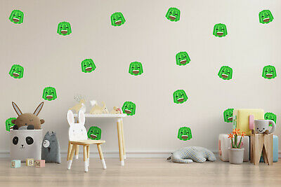 Wall Stickers For Kids Bedroom Children Decal Youtuber Gaming Pack Of 10 & 20 • 12.99£