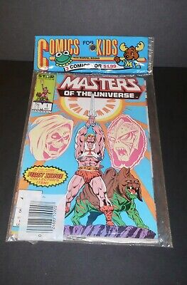 $125 • Buy Star/Marvel Masters Of The Universe Comics 1,2, And 3 New In Package