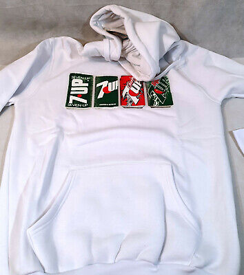 AU28.52 • Buy 7UP White Hoodie, Can Designs, BNWT, Large, NEW