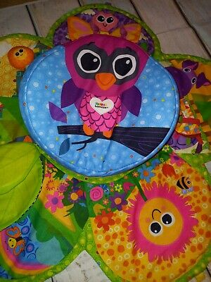 Tomy Lamaze Tummy Time Spinner And Mat Baby Sensory Play • 9.80£