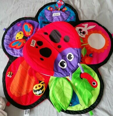 Tomy Lamaze Spin And Explore Garden Gym Baby Tummy Time - Excellent Condition. • 9.99£