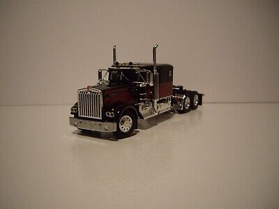 $ CDN83.54 • Buy Dcp First Gear 1/64 Black And Red Kenworth W900a With 60'' Flat Top Sleeper