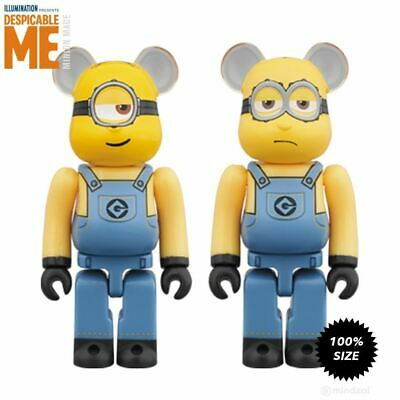 $49.99 • Buy Kevin And Stuart Minion 2-Pack 100% Bearbrick By Medicom Toy