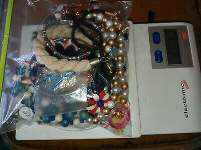 $ CDN17.17 • Buy Costume Jewelry Lot: UNSEARCHED, UNTESTED, Vintage To New Estate Bag/Box 224 Gms