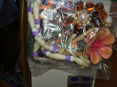 $ CDN17.17 • Buy Costume Jewelry Lot: UNSEARCHED, UNTESTED, Vintage To New Estate Bag/Box 300 Gms