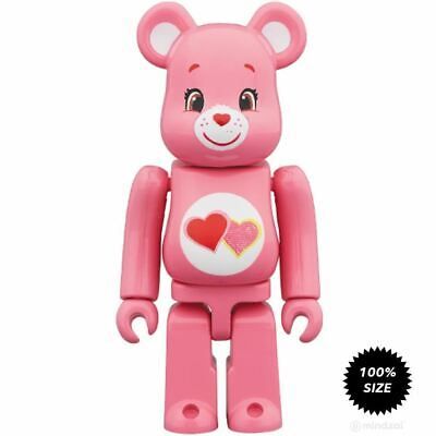 $24.99 • Buy Care Bears Love-a-Lot Bear 100% Bearbrick By Medicom Toy