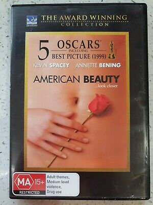 AU1.99 • Buy AMERICAN BEAUTY (DVD, 2007)Kevin Spacey, Annette Bening