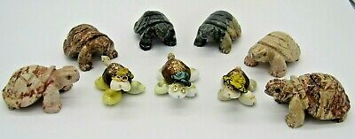 £1.08 • Buy Paper Weight Turtles - Sea Shell And Stone Turtles, Display, Straw Hats, Glasses
