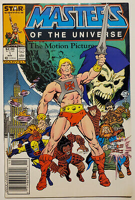 $17.99 • Buy Masters Of The Universe Motion Picture #1 (1987 Marvel/Star) VF Newsstand He-Man