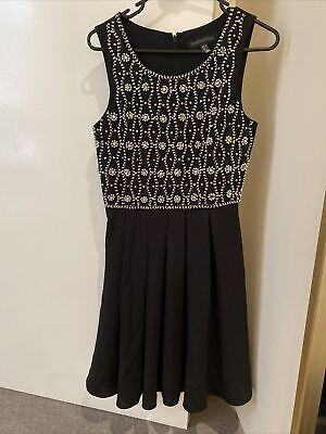 AU19.99 • Buy Forever New Size 8 Embellished Dress