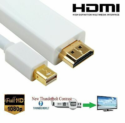 $9.60 • Buy 3M Mini Display Port DP Thunderbolt To HDMI Cable Adapter MacBook Pro IMac To TV