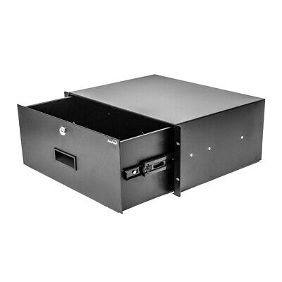 AU91.69 • Buy Server Cabinet Case 19  Rack Mount DJ Locking Lockable Deep Drawer With Key 4U