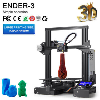 AU217 • Buy Creality 3D Ender-3 3D Printer Kit All-Metal Structure 220*220*250mm+ PLA