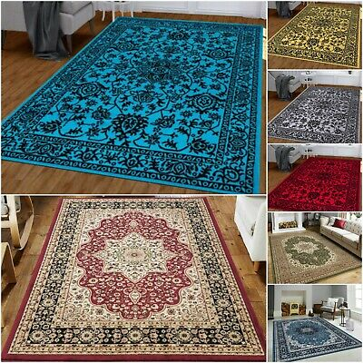 Hand Woven Extra Large Traditional Living Room Bedroom Carpet And Hallway Rug  • 160.99£