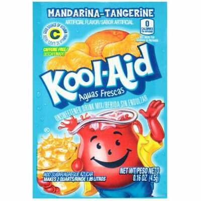 Kool Aid - USA Drink Mix Orange Mandarina Tangerine Flavour *AMERICAN IMPORT* • 5.99£
