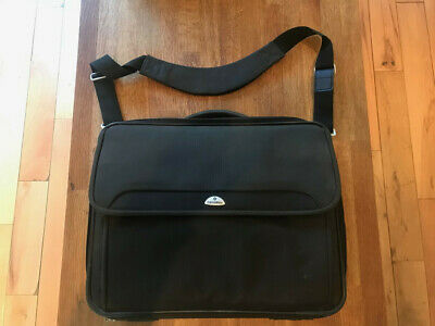 Samsonite Black Laptop Case Briefcase For 17 , 15 , 14  High Quality • 20£
