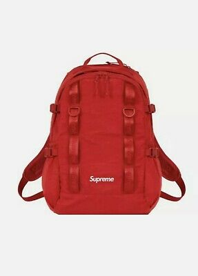 $ CDN414.64 • Buy Supreme Backpack FW20 Red [BRAND NEW] [UNOPENED]