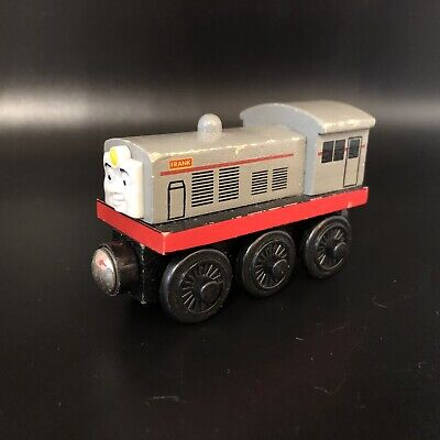 Thomas & Friends Wooden Train Frank Diesel Engine 2001 Learning Curve • 7.13£