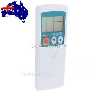 AU15.95 • Buy Mitsubishi Universal Air Conditioner Replacement Remote Control Fits Most Models