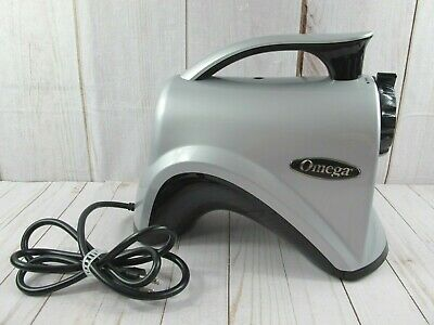 Omega NC800S Juicer And Nutrition Center Piece Silver ~ NEW  • 57.24£