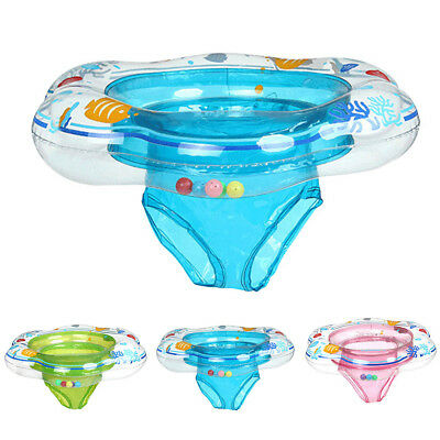 £8.99 • Buy Baby Float Swimming Ring Toddler Kids Inflatable Ring Rubber Boat With Seat