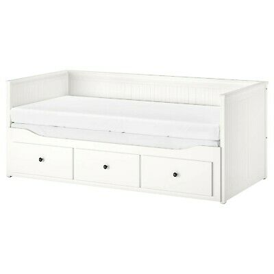NEW IKEA HEMNES DAYBED With MALFORS MATTRESSES - NEVER USED OR SLEPT ON RRP £385 • 110£