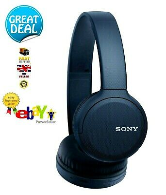 🔥Sony WH-CH510 On-Ear Bluetooth Headphones W/Mic Voice Ass - Blue ✨GREAT ITEM✨ • 39.95£