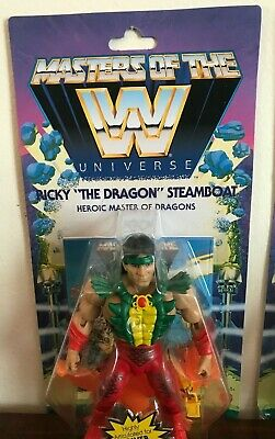 $33.75 • Buy WWE MASTERS OF THE UNIVERSE Action Figure Wave 5 Series Ricky Dragon Steamboat