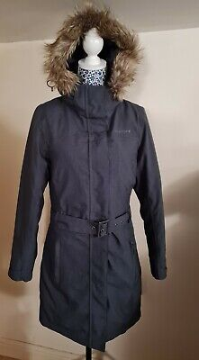 Peter Storm Down Feather Mid Length Grey Jacket Womens Size 10 • 10£