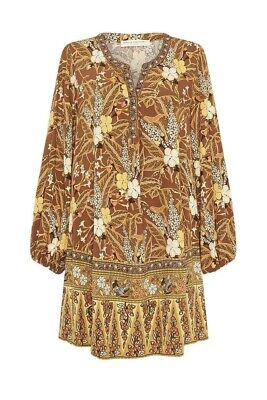 AU160 • Buy ✨NWOT Spell And The Gypsy 'Bianca Tunic Dress' Size M💜💜