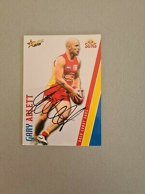 AU25 • Buy Garry Ablet Signed Gold Coast Suns Afl Card