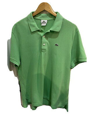 Lacoste Green Mens Polo Shirt Size 6 • 5£