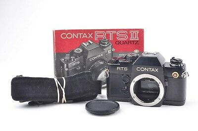 $ CDN290.33 • Buy EXC++ CONTAX RTS II QUARTZ 35mm SLR BODY, MANUAL, STRAP, 50TH ANNIVERSARY MODEL