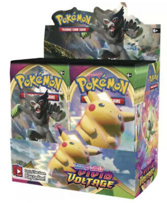 AU8.50 • Buy (IN STOCK)POKEMON TCG Sword And Shield Vivid Voltage Booster Packs Brand New
