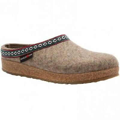 Haflinger Classic Grizzly Clog/Slipper, Earth, 39 EU GENTLY USED • 50.65£