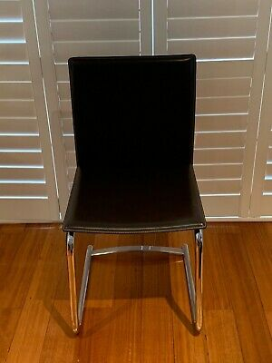 AU800 • Buy King Furniture Dining Chairs Dark Brown Leather