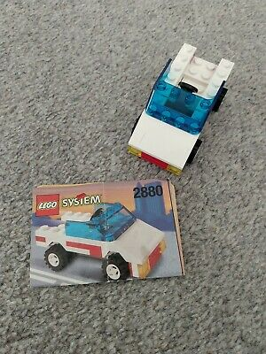 Small Lego Set - 2880 - Car - COMPLETE With Instructions • 7.50£