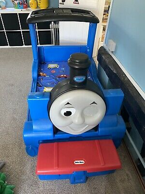 £55 • Buy Thomas The Tank Engine Toddler Bed, Little Tikes. COLLECTION ONLY.