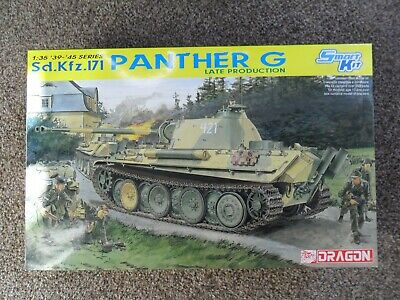 Dragon 6268 1/35 GERMAN Sd.Kfz.171 PANTHER G, LATE Smart Kit • 37£