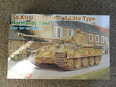 DRAGON 1/35 6168 Sd.Kfz.171 Panther A Late Type+Extras • 44.50£