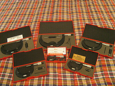 $799.99 • Buy STARRETT 436.1 MICROMETER SET 0-6  (no Engravings) READ