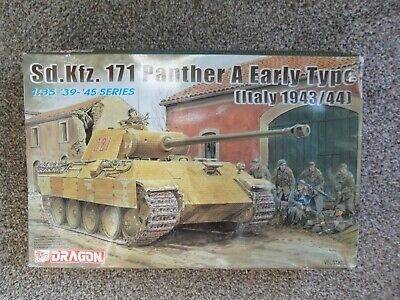 Dragon Sd.Kfz.171 Panther A Early Type (Italy 1943/44) 1/35+Extras • 32£
